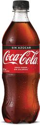 Bebida Coca Cola Zero, 591Cc