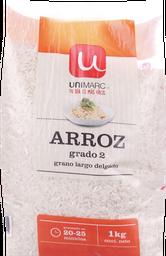 Arroz G2 Grano Largo Unimarc B 1 Kg