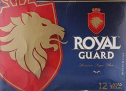 Cerveza Royal Guard, Lata 350 Ml X 12 U