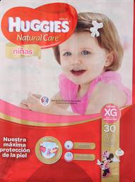 Pañal Huggies N. Care Niñas Xg, 30U (12 A 15Kg)