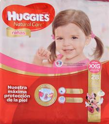 Pañal Huggies N. Care Niñas Xxg, 28U (+15Kg)