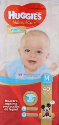 Pañal Huggies N. Care Niños M, 40U (5.5 A 9.5Kg)