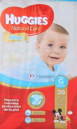 Pañal Huggies N. Care Niños G, 36U (9 A 12.5Kg)