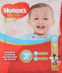 Pañal Huggies N. Care Niños Xxg, 28U (+15Kg)