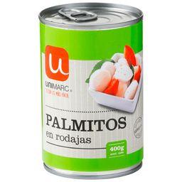 Palmitos En Rodajas Unimarc, 400 G