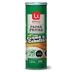 Unimarc Papas Fritas Onion & Cream