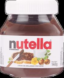 Crema de Avellanas Nutella  140 g