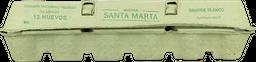 Huevo Santa Marta Grande Blanco 12 u