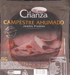 Jamón La Crianza Campestre Ahumado 200 g