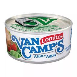 Atún en Agua Van Camps Lomitos 184 g