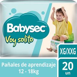 Pañal Babysec Voy Solito XG/XXG 20 U