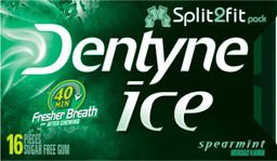 Chicle Dentyne Sin Azúcar Sabor A Menta Verde 16Un 24g