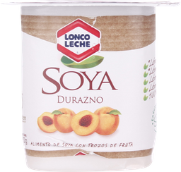 Alimento de Soya Loncoleche Trozos Durazno 120 g