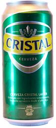 Cerveza Cristal Lager 470 mL