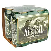 Cerveza Austral Lager, Lata 4 X 350 Ml