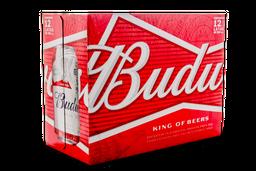 Cerveza Budweiser, Lata 355 Ml X 12 U