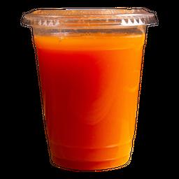 Jugo naranja zanahoria