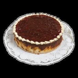 Cheesecake de mermelada de guinda o arándano o frambuesa