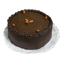 Panqueque chocolate mazapán