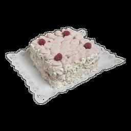 Torta helada merengue frambuesa