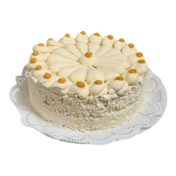 Torta helada merengue lúcuma