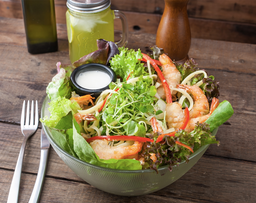Mister Fish Salad  (Camarón)