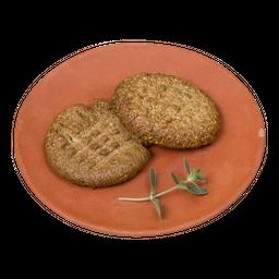 Galletas de Mantequilla de maní (Sin gluten)