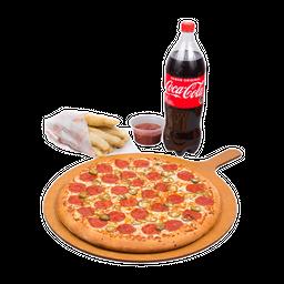 Pizza 2 ingred. bebida 1.5L