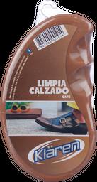 Esponja Klaren Limpia Calzado Café
