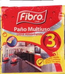 PAÑO FIBRO MULTIUSO 3UN