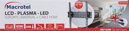 Soporte articulado LCD-LED 32-55'' Macrotel móvil