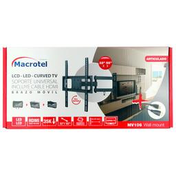 Soporte LCD-LED 32-55'' Macrotel móvil