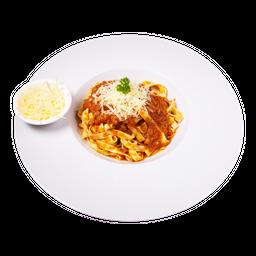Fetuccini bolognesa