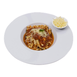 Fetuccini pomodoro basilico
