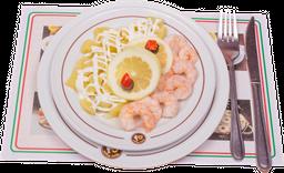 Camarones Papas Mayo