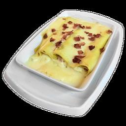 Cannelloni de Ricota o Ricota y Jamón Caseros