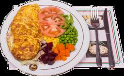 Omelette de Jamón, Jamón Queso o Ave