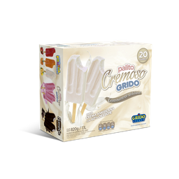 Paletas de Crema Chantilly