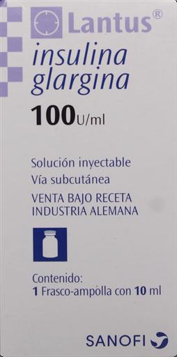 Diabetes Inyectable Lantus Insulina Ampolla