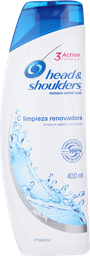 Shampoo Head & Shoulders Limpieza Renovadora H&S