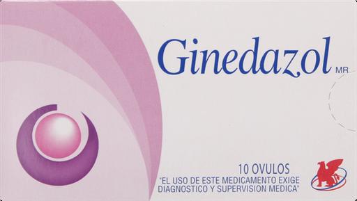 Antimicoticos Antiinfecciosos Ginedazol 10 Ovulos