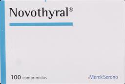 Hormonas Tiroideas Novothyral Com.100