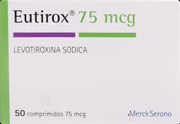 Hormonas Tiroideas Eutirox 50 Comprimidos 75Mcg