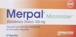 Antiinflamatorios Merpal Micro.Cap.100Mg. 8
