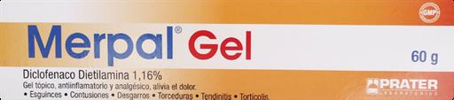 Antiinflamatorios Merpal Gel.1 %.60 Gr.