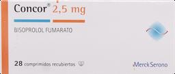 Hipotensores Concor Com. 2,50Mg.28