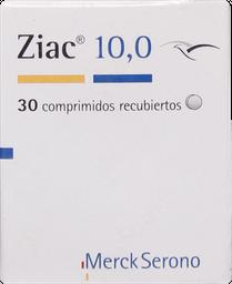 Hipotensores Ziac Com.10,0Mg.30