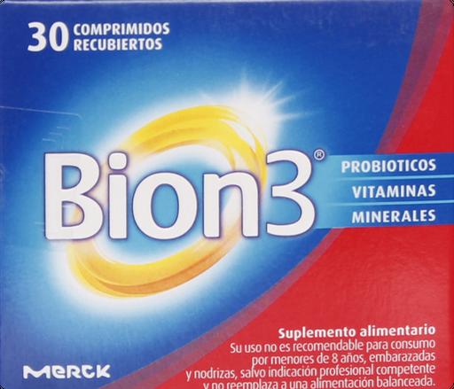 Vitaminas Bion 3 Com.Rec.30