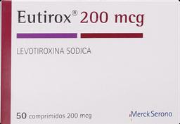 Hormonas Tiroideas Eutirox Com.200Mcg. 50