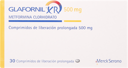 Diabetes Glafornil Xr Com. 500Mg30